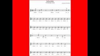 Ludwig van Beethoven: Schwenke. Vierstimmiger Kanon. WoO 187