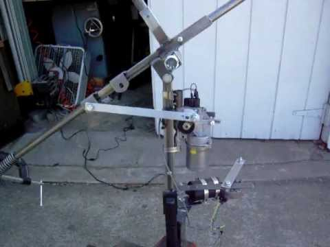 Halloween witch windshield wiper motors youtube for Electric motors for halloween props