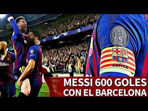 Messi, 600 goles con el Barcelona 14 años después de su primer gol | Diario AS