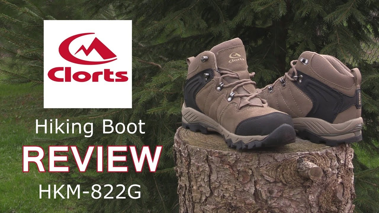 Clorts Hiking Boot Review - YouTube