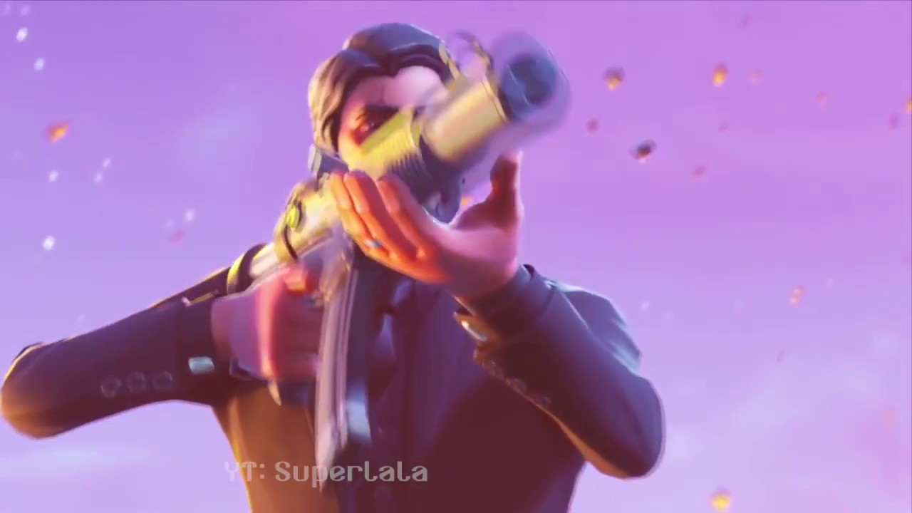 When John Wick Runs Up To Your Squad Fortnite BR Edition