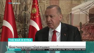 Turkish President Tayyip Erdogan gives exclusive interview to Reuters