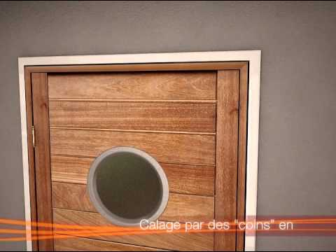 Porte interieure roziere sas pose de porte en r novation vid o explicative youtube - Porte bloquee de l interieur ...