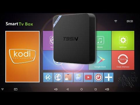 Обзор: На что способна T95N TV box самая недорогая приставка на Android 6.0