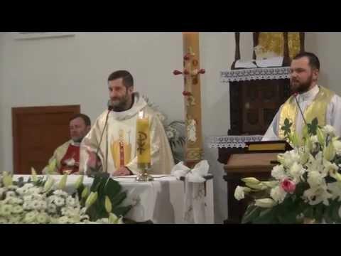Ukraina - kapituła br. Jacek Kania OFMCap homilia