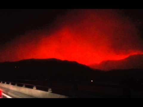 Fire July 17, 2014 Brewster - Pateros