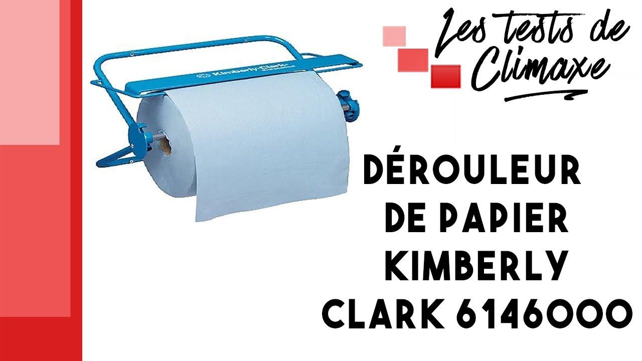 test d 39 un distributeur de papier essuie tout kimberly clark 6146000 youtube. Black Bedroom Furniture Sets. Home Design Ideas