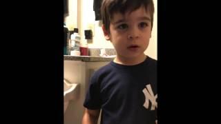 Teaching a kid to poop in the toilet