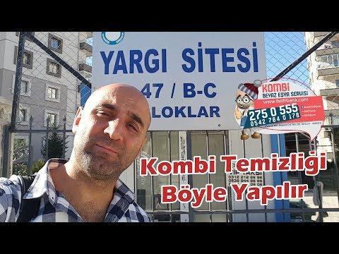 Ankara'da Kombi Bakımı Böyle Yapılır! Korsan Servislere Gelsin Hodri Meydan