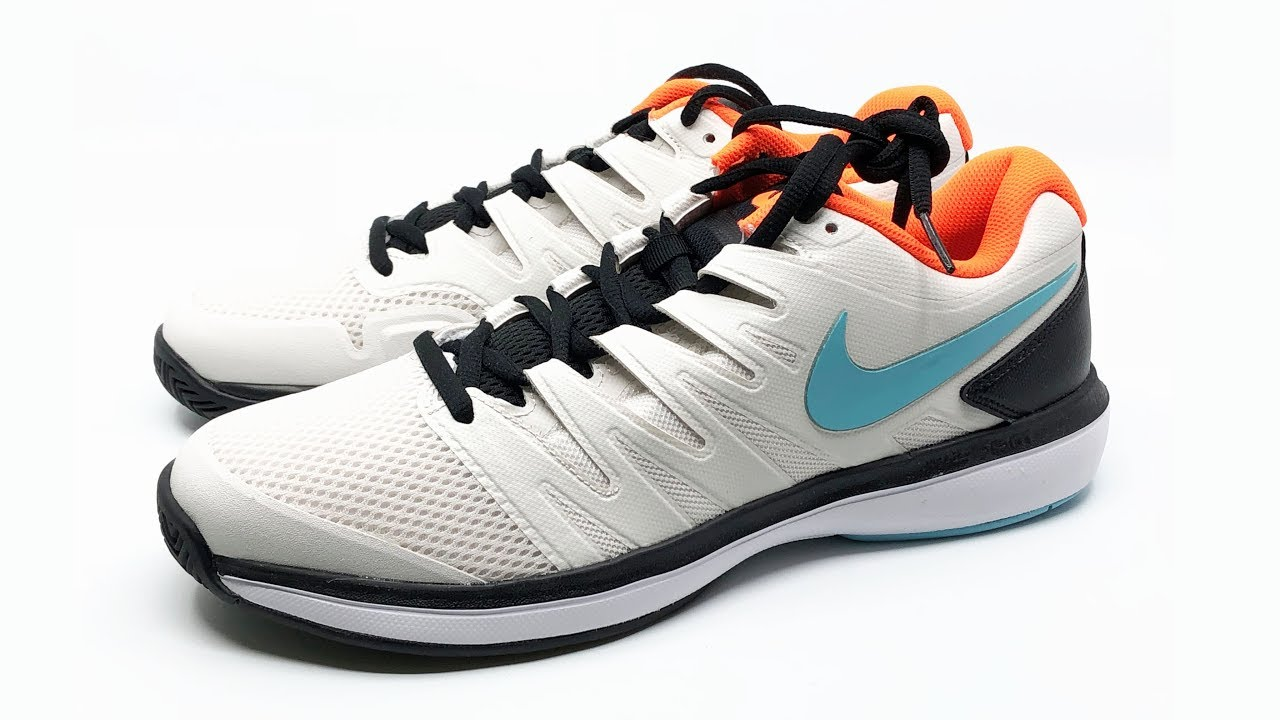 new products 243a2 4dbc7 Nike Air Zoom Prestige HC (Phantom   Bleached Aqua-White) 4K