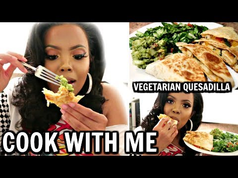 COOK WITH ME | BEST VEGETARIAN QUESADILLAS| HEALTHY LOW CARB EASY MEAL PREP FOR BEGINNERS| TASTEPINK