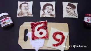 Baixar Dirgahayu Indonesia #nutella #foodart #merdekaitu by @nooraditama
