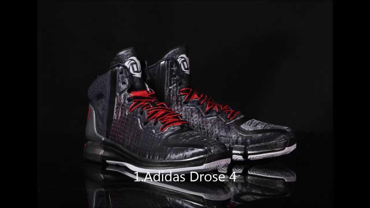 Top 10 Basketball Shoes of the 2013-2014 Season HD - YouTube