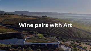 Wine pairs with Art. Wine pairs with Portugal.