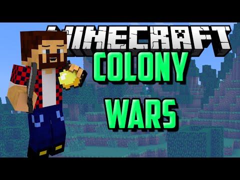 ОТБИВАЛСЯ КАК ЛЕВ - Minecraft Colony Wars (Mini-Game)