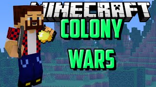 ОТБИВАЛСЯ КАК ЛЕВ - Minecraft Colony Wars (Mini-Game)
