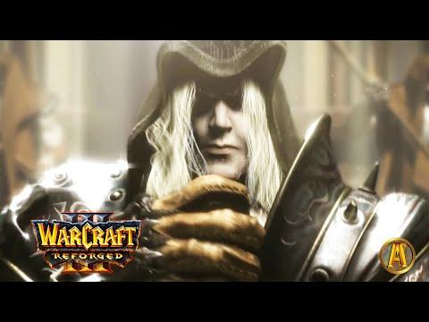 Lich King Arthas Fall To Corruption - ALL Cinematics [Warcraft 3: Reforged]