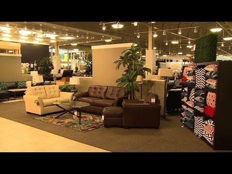 A peek inside Nebraska Furniture Mart Texas