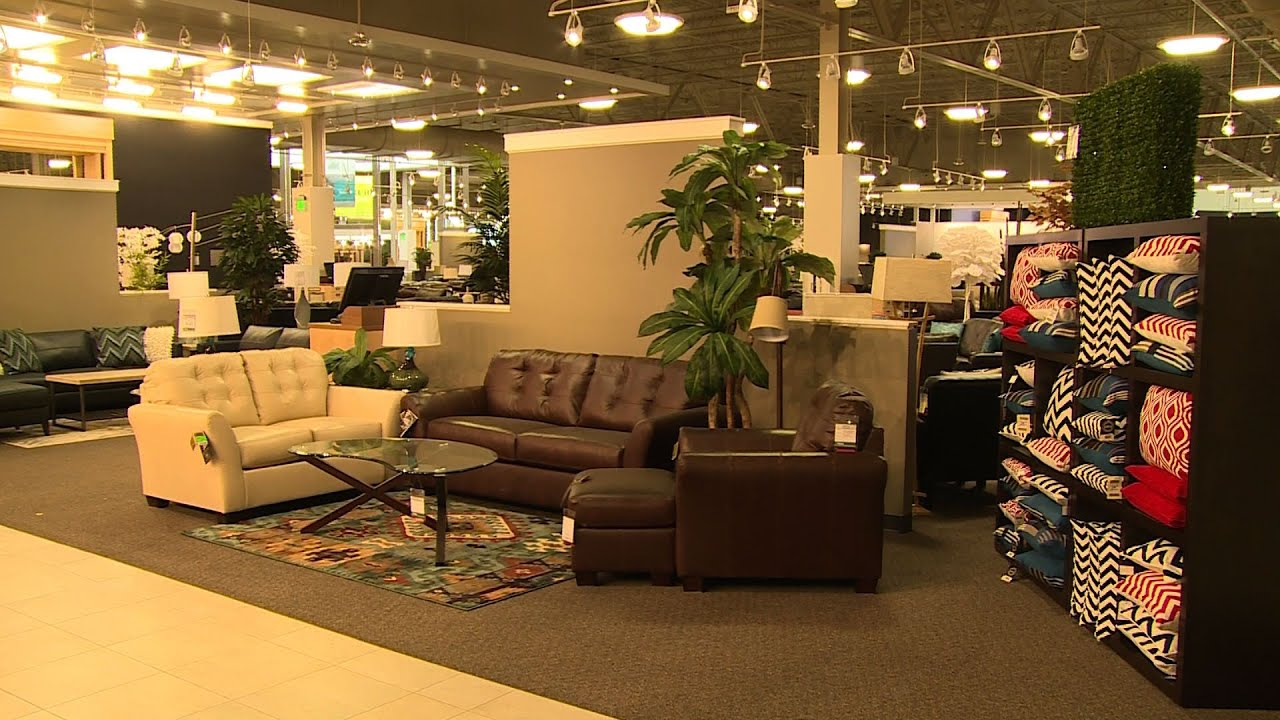 A Peek Inside Nebraska Furniture Mart Texas   YouTube
