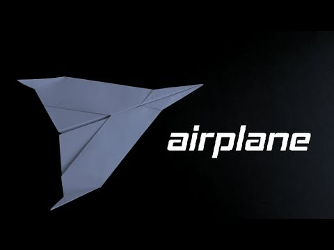 How to make the BEST Paper Airplane glider in the world that FLIES 10000 FEET