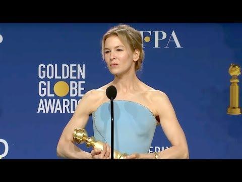 Renée Zellweger - Judy | Golden Globes 2020 Full Backstage Interview