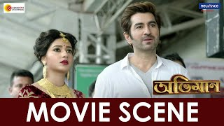 Abhimaan - Movie Scene | Jeet, Subhashree, Sayantika | Raj Chakraborty