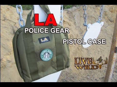 LA PolicGear Pistol Case