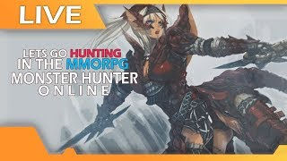 Lets Go Hunting In The MMORPG - Monster Hunter Online, In English! - 0 Deaths? UNLIKELY!