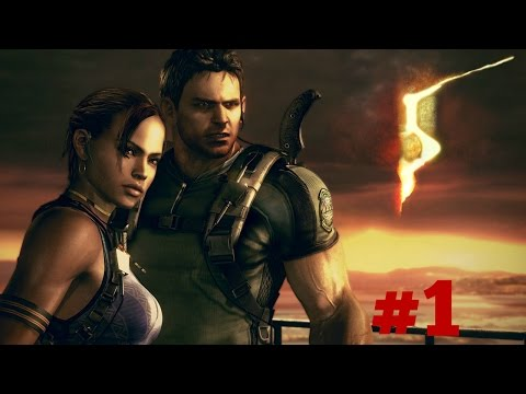 Welcome To Africa!!!! - Resident Evil 5 - Coop Playthrough Part 1