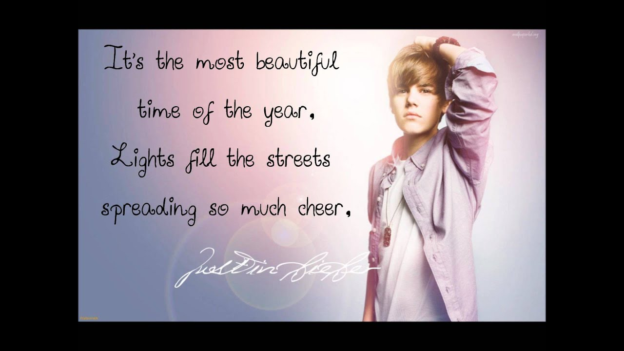 Justin Bieber  Mistletoe Lyrics  MetroLyrics