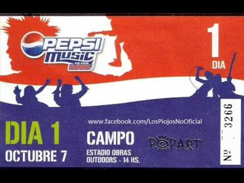 Los Piojos - Pepsi Music 2005 (Audio Mega 98.3)