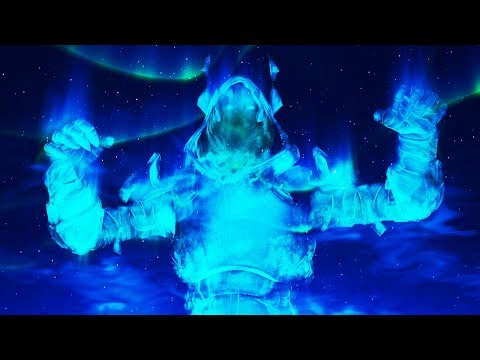FORTNITE FULL ICE KING STORM EVENT (The Ice Sphere One Time Event Live)