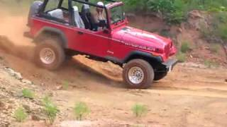 Rodeo goes off-road Jeep