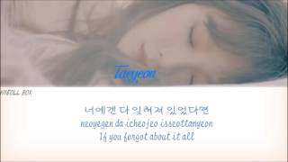 Taeyeon - 11:11 Lyrics Coded Han Rom Eng