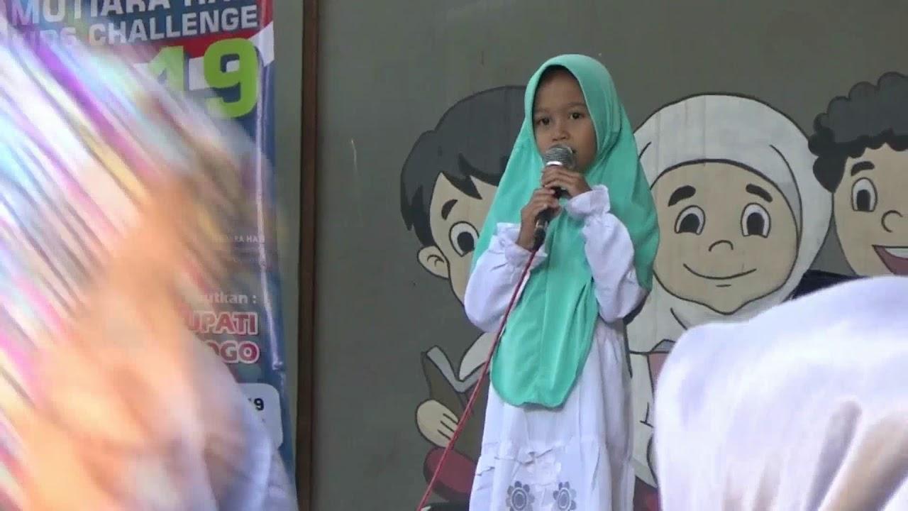 Anak Kecil Pandai Menghafal Surat Pendek Youtube
