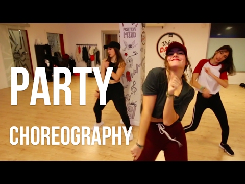 PARTY - Chris Brown | Choreography Lydia Martorell | SAUVAGE VELVET CLASS