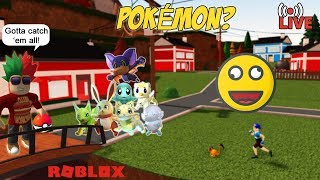Roblox LIVE #15: Pokémon? (tagalog)