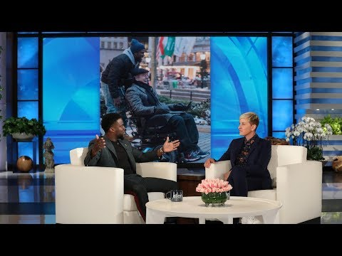 Kevin Hart Talks Blacking Out on New Years Eve, and the Crazy Coincidence of The Upside
