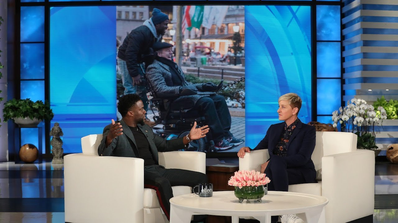 Kevin Hart Talks Blacking Out on New Year's Eve, and the Crazy Coincidence of 'The Upside&