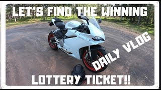 I'M GOING TO WIN THE LOTTERY!! Panigale 959 Daily Vlog
