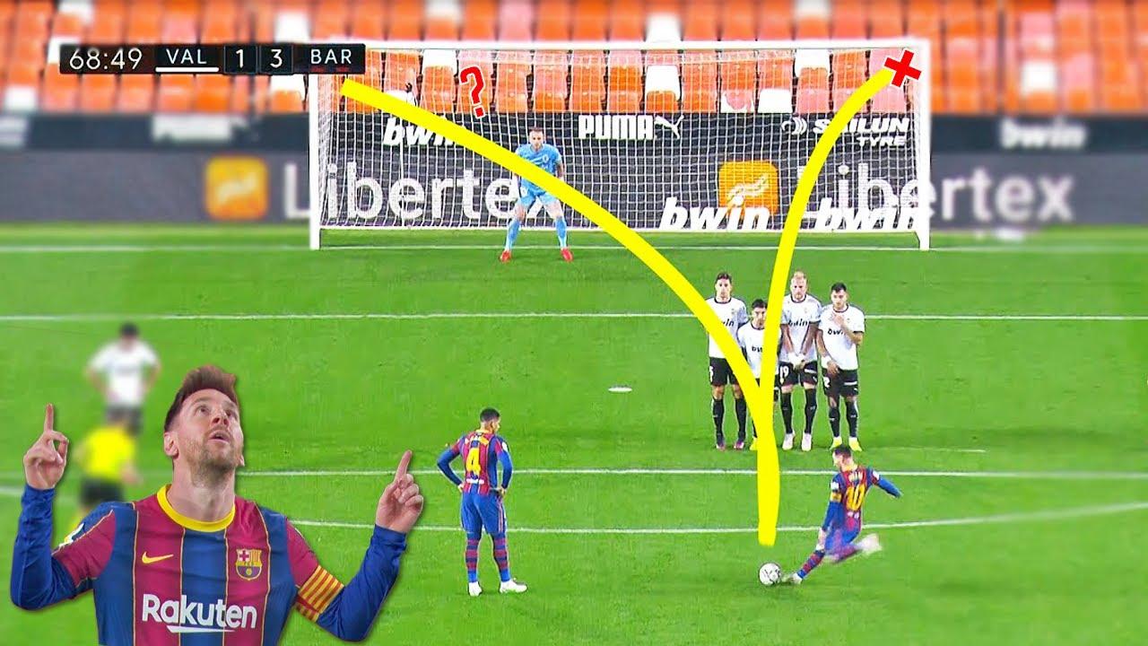 CRAZY Free Kick Goals in Football 2021