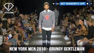 New York Men Spring/Summer 2018 - Grungy Gentleman | FashionTV