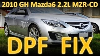 Mazda 6 Flashing DPF Light Fix