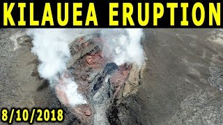 NEWS UPDATE Hawaii Kilauea Volcano Eruption 8/10/2018