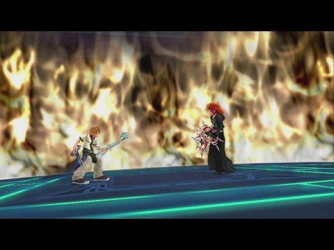 Kingdom Hearts HD 2.5 Remix - Roxas vs Axel (Full HD)