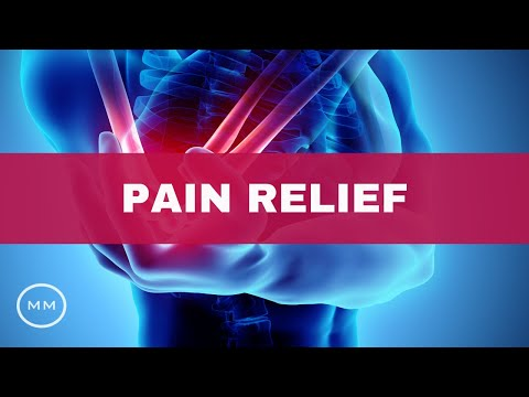 Pain Relief (v.3) - Heal Migraines, Back Pain, Arthritis - Meditation Music - Binaural Beats