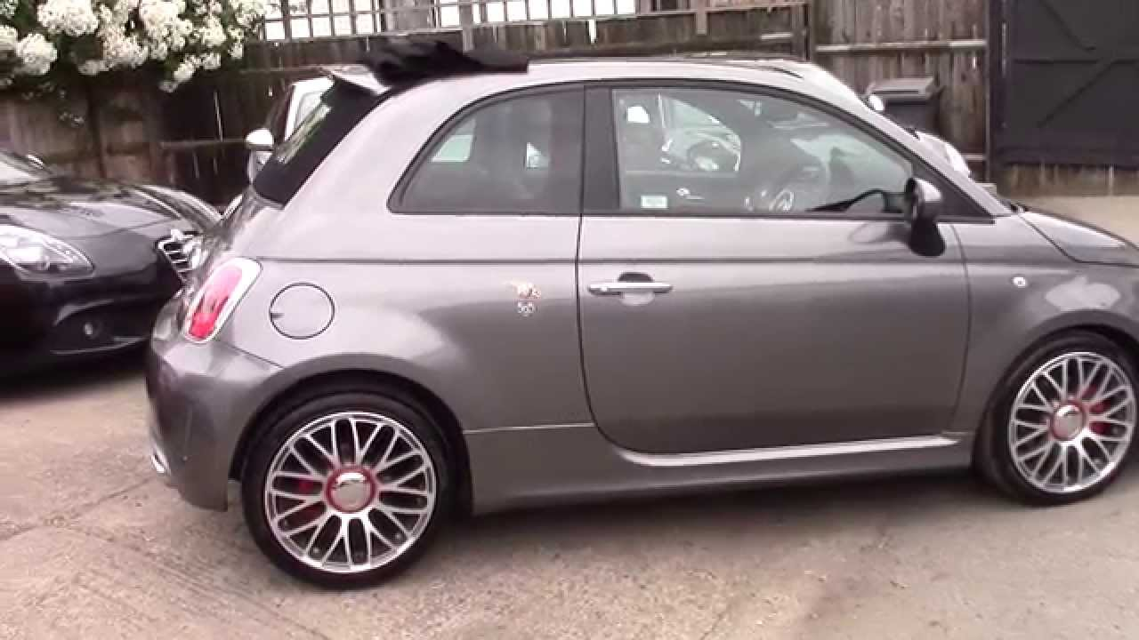FIAT ABARTH 595 CONVERTABLE FOR SALE - YouTube