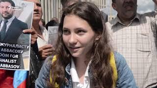 """""""Ты не журналист, ты наркоман"""". Официальный митинг в поддержку Голунова"""