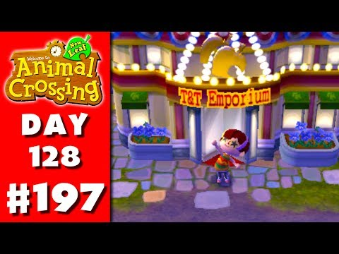 Animal Crossing: New Leaf - Part 197 - T&T Emporium (Nintendo 3DS Gameplay Walkthrough Day 128)