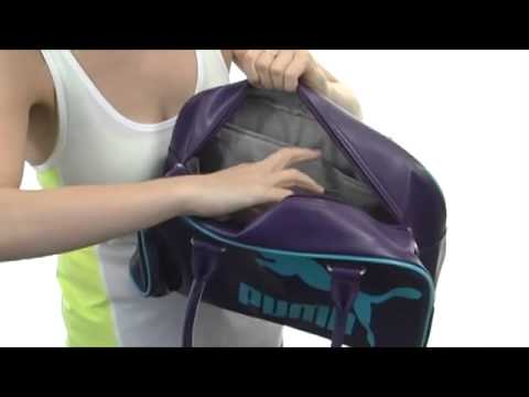 603cfda732e7 PUMA Heritage Handbag SKU  8215237 - YouTube